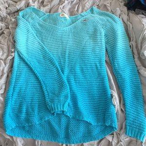 Ombré blue sweater